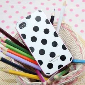 Kate Spade Hard Shell Iphones 4 Case Cell Phones
