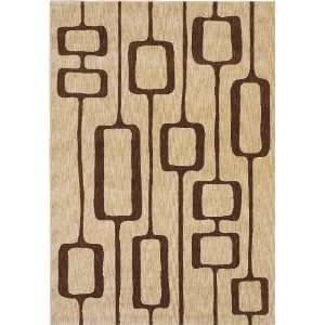 Adams Beige Manfred 06100 Rug, 77 by 1010 Furniture & Decor