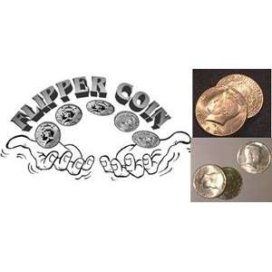 Flipper Quarter Coins Street Magic Money Trick Close Up