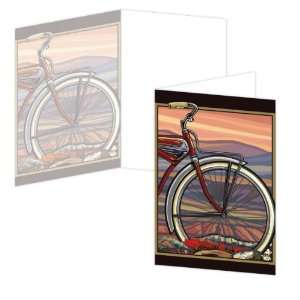 ECOeverywhere Big Wheel Boxed Card Set, 12 Cards and