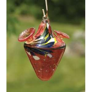 Bird Brain Model 15701 Kaleidoscope Hummingbird Feeder Red