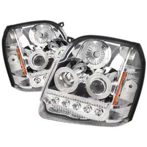 Spyder Auto PRO ON GYU07 LED C GMC Yukon/Yukon XL Chrome LED Projector