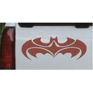 Brown 36in X 13.8in    Tribal Batman Car Window Wall Laptop Decal