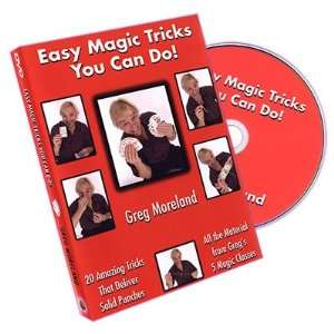 Magic DVD Easy Magic Tricks You Can Do by Greg Moreland