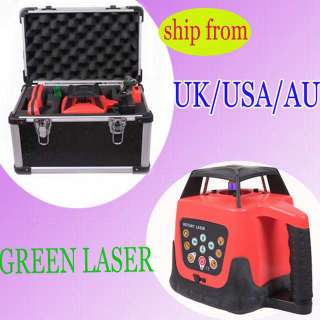 SELF LEVELING ROTARY/ ROTATING GREEN LASER LEVEL 500M