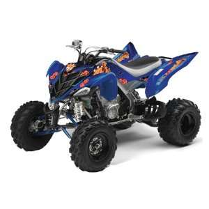 AMR Racing Yamaha Raptor 700 ATV Quad Graphic Kit   Jackpot Blue