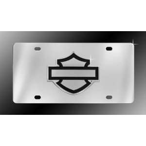 Harley Davidson Outline Shield License Plate Automotive