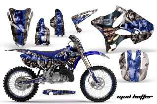 ROAD MOTOCROSS GRAPHIC DECAL KIT YAMAHA YZ 125/250 02 11 MTSSU