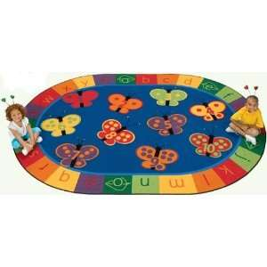 Carpets for Kids 3503 310x55, 123 ABC Butterfly Fun