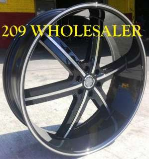 24 INCH 55B RIMS WHEELS AND TIRES ESCALADE YUKON SIERRA TAHOE