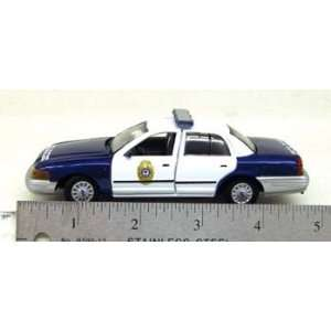 SPECIAL Gearbox 1/43 Raleigh, NC Police Ford Crown Vic