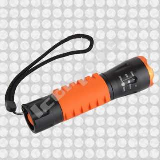 CREE Q5 LED 500 Lumens Zoom Torch Flashlight Lamp Light