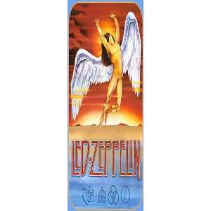 Magnetic Bookmark LED ZEPPELIN (Swan Song Logo