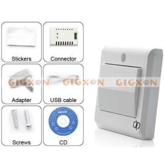 HD Spy Camera Light Switch GSM Remote Control
