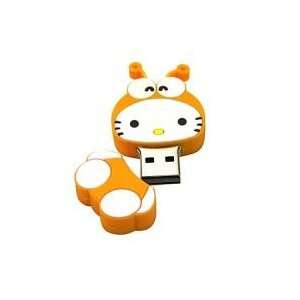 8GB Lovely Bee Cartoon USB Flash Drive Orange Electronics