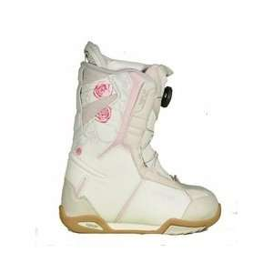 Lamar Power BOA Snowboard Boots Kids Girls white pink Size