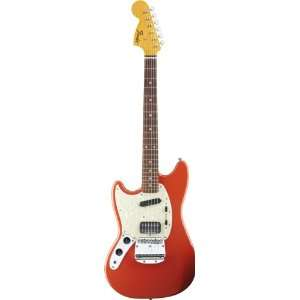 Fender 251420540 Kurt Cobain Mustang Electric Guitar, LH
