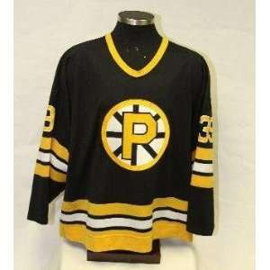 John Blue Providence Bruins game worn jersey   Sports