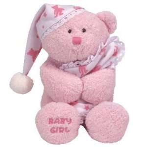 Baby   BABY GIRL the Bear (with frilled Blanket & Cap) Toys & Games