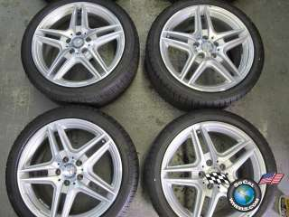 E350 E550 Factory AMG 18 Wheels Tires OEM Rims W207 W212 85150
