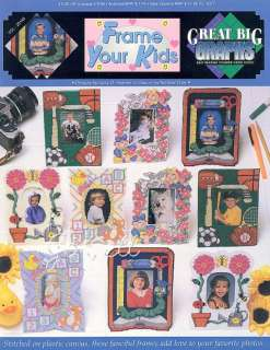 Frame Your Kids plastic canvas & cross stitch patterns