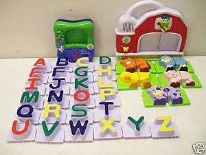 LEAP FROG FRIDGE PHONICS ALPHABET FARM ANIMALS LEARNING