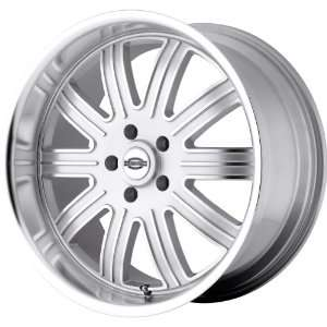 TSW Alloy Wheels Springdale Silver Wheel with Machined Face (22x11