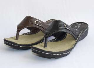 NEW Womens Girls Flip Flops Thongs Sandals Shoes Indoor Outdoor Black