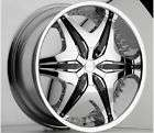 20 inch Big Papi Akuza chrome black wheel rim 5x120 BMW