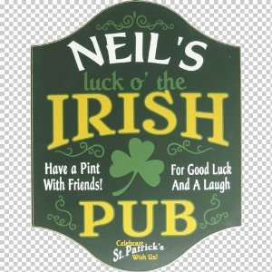 Irish Pub Sign   Luck of the Irish Patio, Lawn & Garden