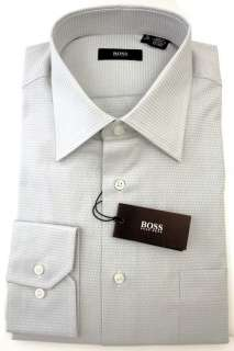 Hugo Boss Clifford Light Blue Mens Cotton Dress Shirt