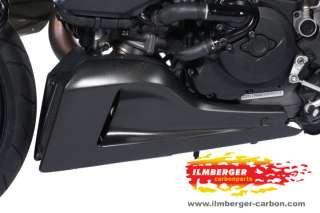 DUCATI DIAVEL CARBON BELLYPAN KIT LEFT AND RIGHT SIDE REAL CARBON