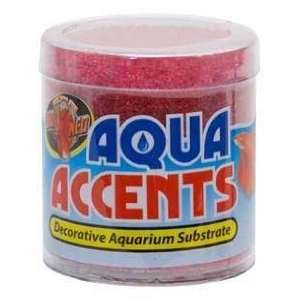 Zoo Med BA 6 Aqua Accents Radical Red Sand 0.5lb Pet