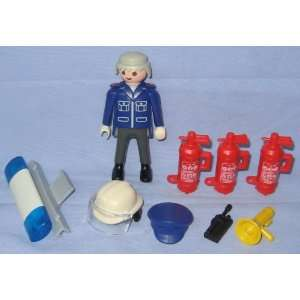 Playmobil Rescue Fire Chief Accessory Pack   One Figure