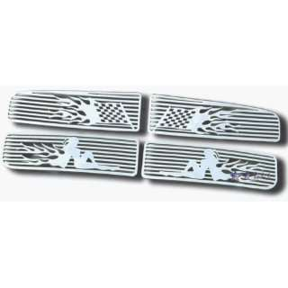 Dodge Ram 02 To 05 Dodge Ram Flame CNC Machined Grille D25720c Grille