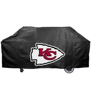 NFL Kansas City Chiefs Black Grill Cover Sports