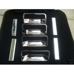Mirror Polish Chrome Door Handle Cover   GMC Yukon 92 99