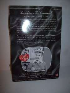 LOVE LUCY TV COMMERCIAL DOLL IN BOX LUCILLE BALL