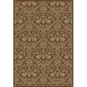 Concord Global   Jewel   4948 Damask Area Rug   93 x 12