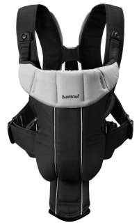 BabyBjorn Baby Carrier Active   Black/Silver  026165US 874594002234