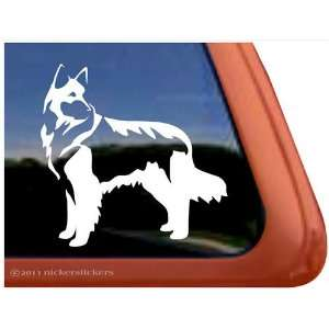 Belgian Tervuren Dog Vinyl Window Auto Decal Sticker