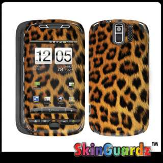 Black Yellow Cheetah Vinyl Case Decal Skin To Cover HTC MyTouch 3G