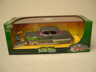 Diecast Road Rats 1953 Chevy Bel Air with figure 124 Scale
