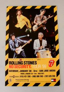 1999 Rolling Stones No Security Tour Promo Full Color