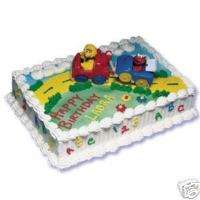 Elmo & Big Bird Train Sesame Street Cake Decoration NEW