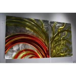 Metal Wall Art, Painting on Metal, Design by Wilmos Kovacs Home