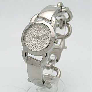 ar0760 ladies stainless steel watch bracelet stainless steel case