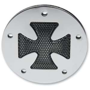 Drag Specialties Accent Style Points Cover   Cross   Chrome 63143B2