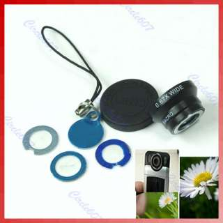 MINI Macro Detachable Lens For Digital Camera Phone Mobile B