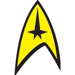 Star trek insignia sticker / decal